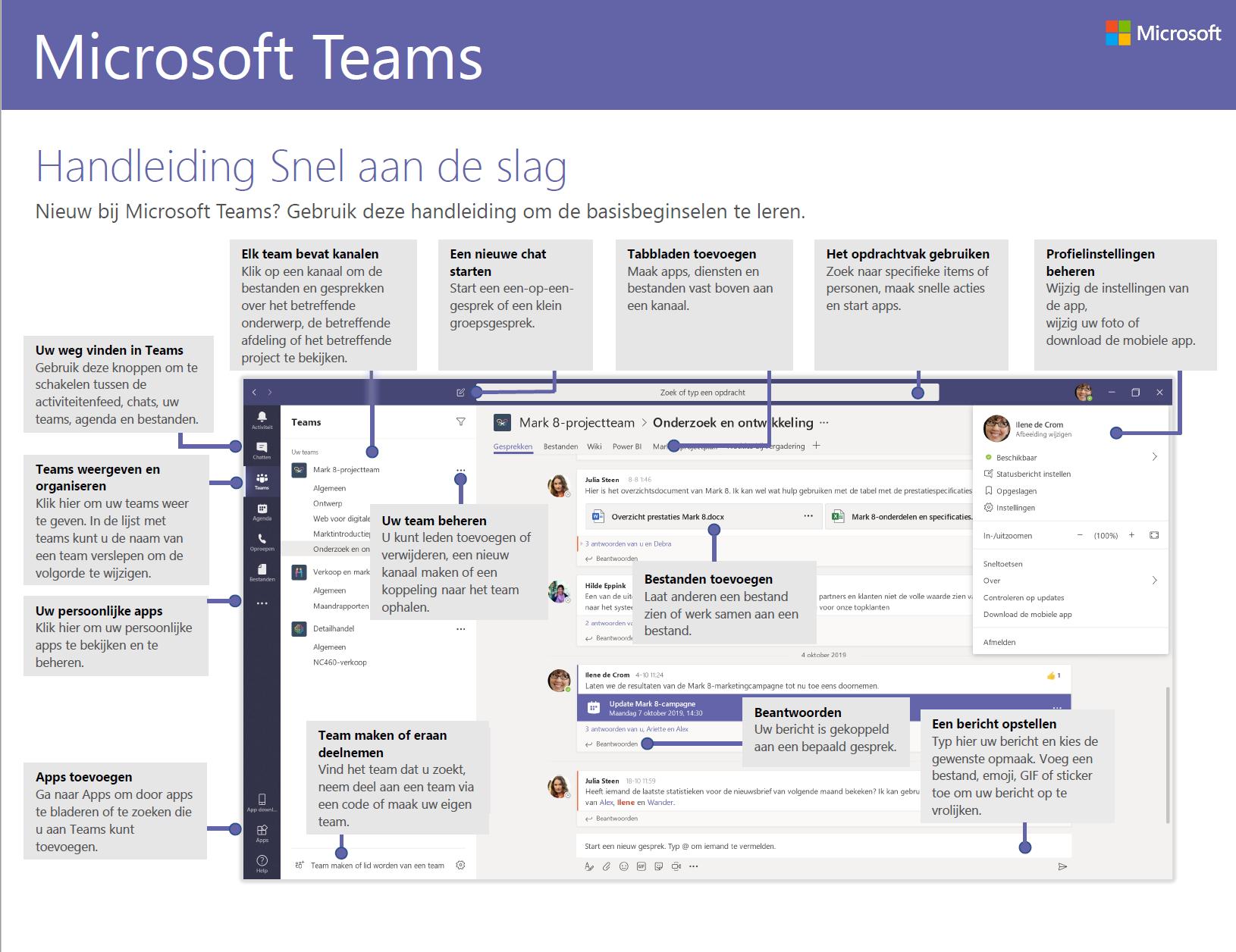 Microsoft Teams Nederlandse handleiding (pdf)