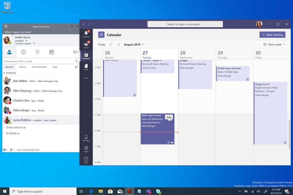 Meetings First brengt Microsoft Teams afspraken naar Skype for Business